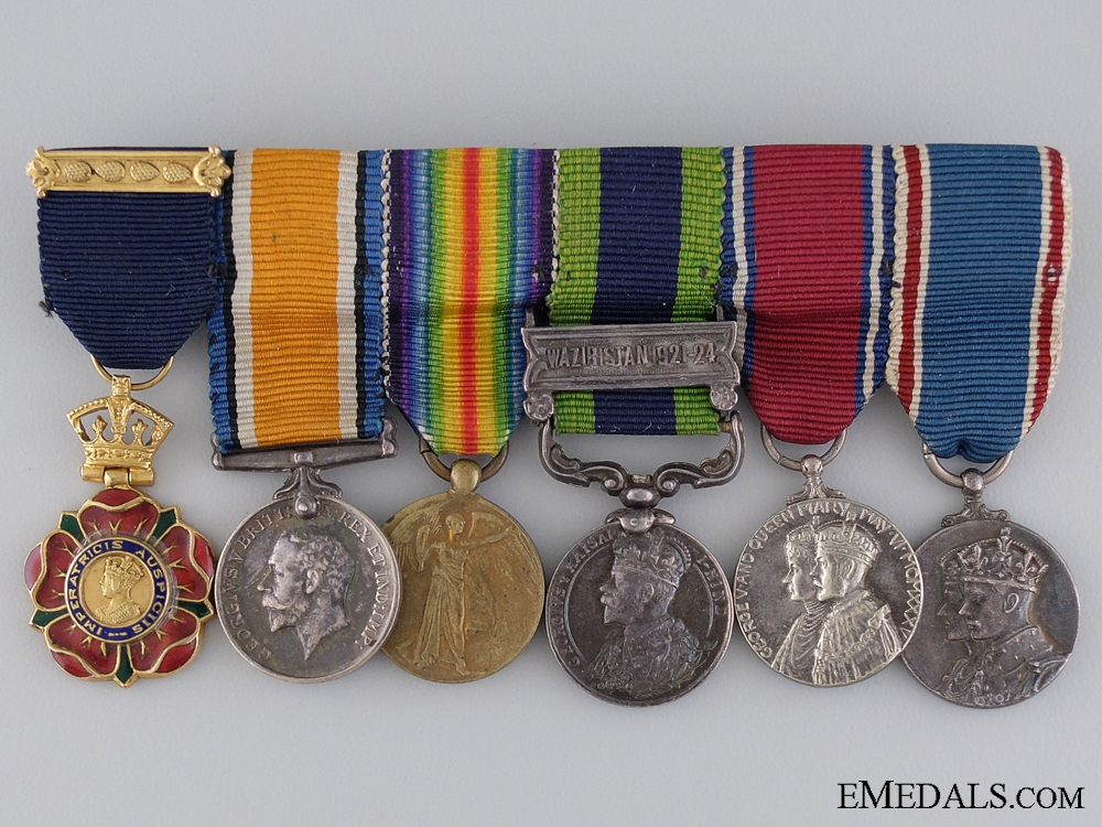 eMedals-A Period Gold Order of the Indian Empire Miniature Group