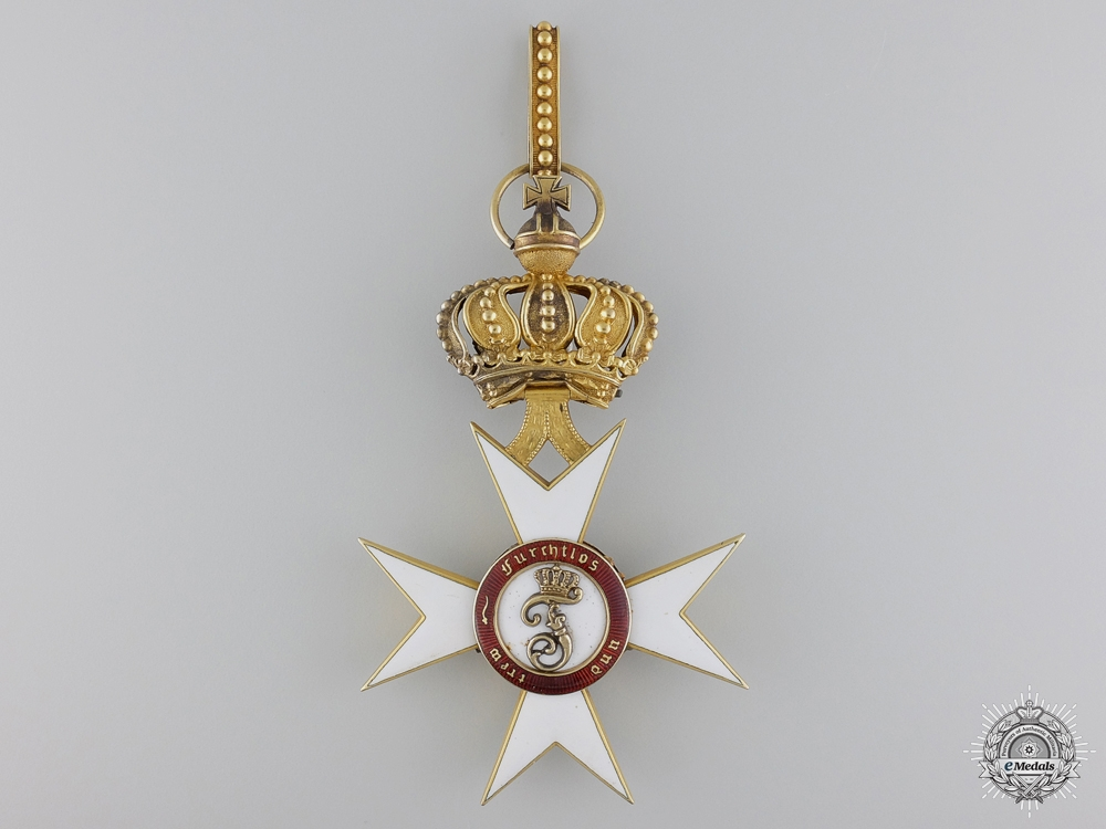 eMedals-An Order of the Crown of Württemberg in Gold, by Eduard Foehr