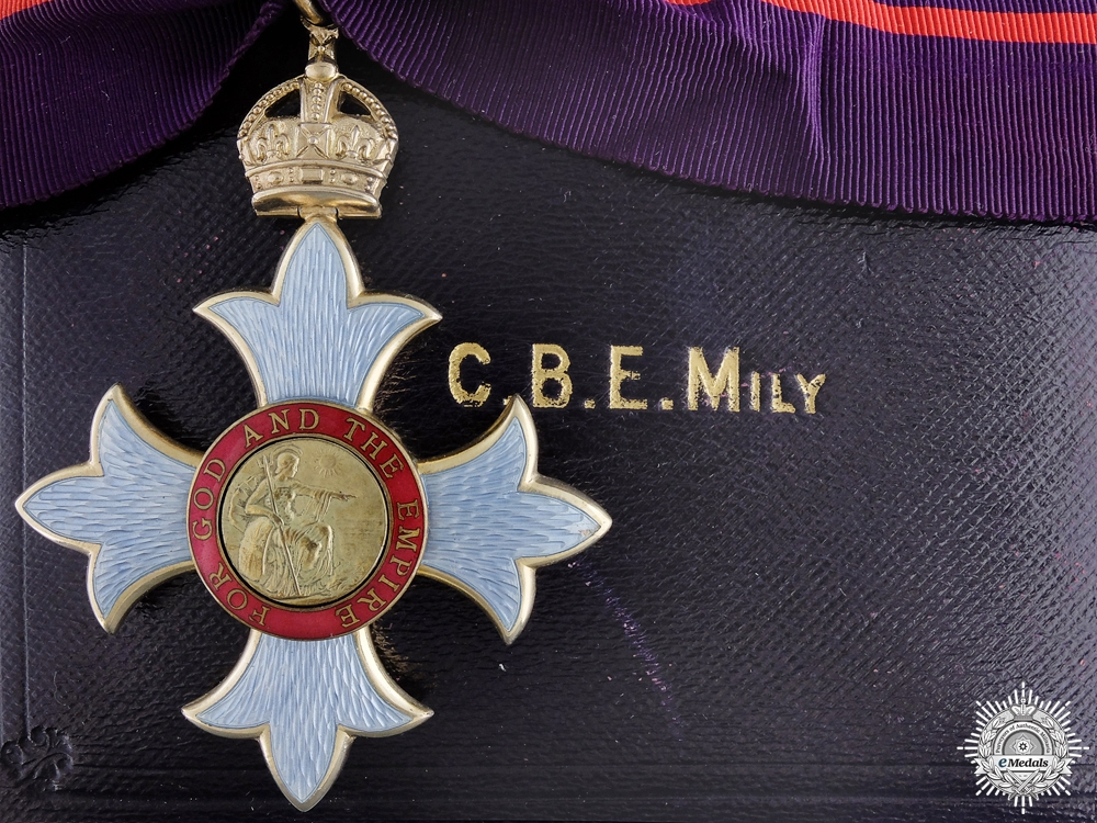 eMedals-An Order of the British Empire CBE; First Type