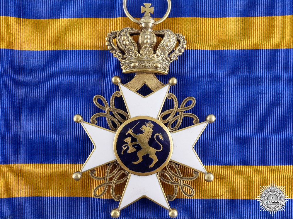 eMedals-An Order of the Netherlands Lion; Grand Cross in Gold