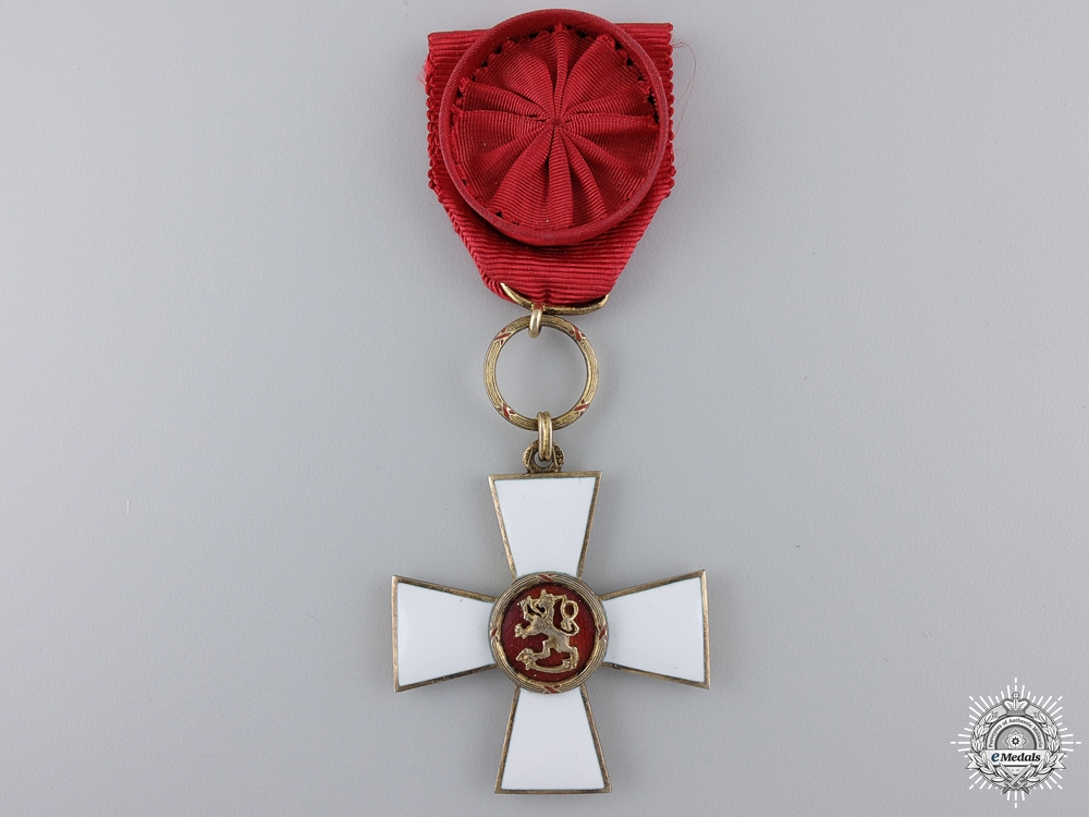 eMedals-An Order of the Lion of Finland; Officer's Cross