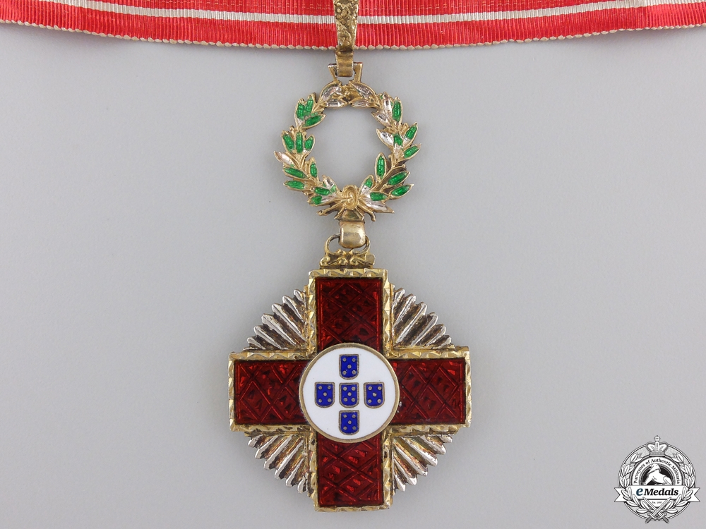eMedals-An Order of the Portuguese Red Cross, 2nd Class