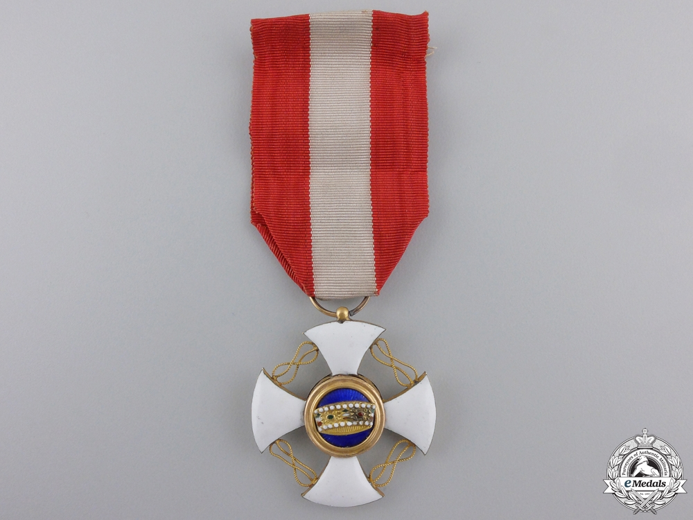 eMedals-An Order of the Crown of Italy, Knight's Cross