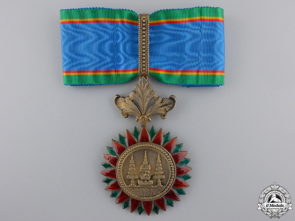 eMedals-An Order of the Crown of Thailand; Commander