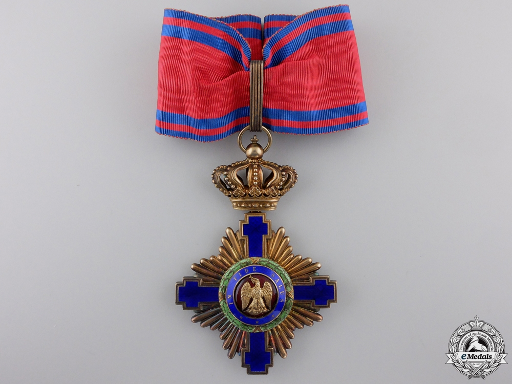 eMedals-An Order of the Romanian Star; Commanders Cross