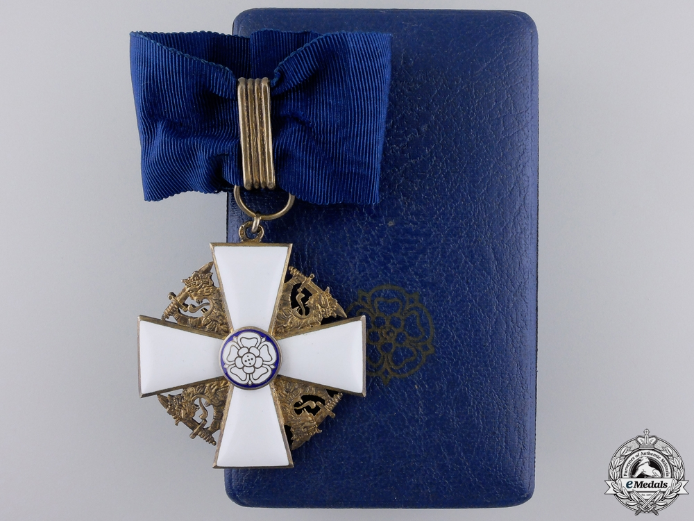 eMedals-An Order of the White Rose of Finland by A.Tillander