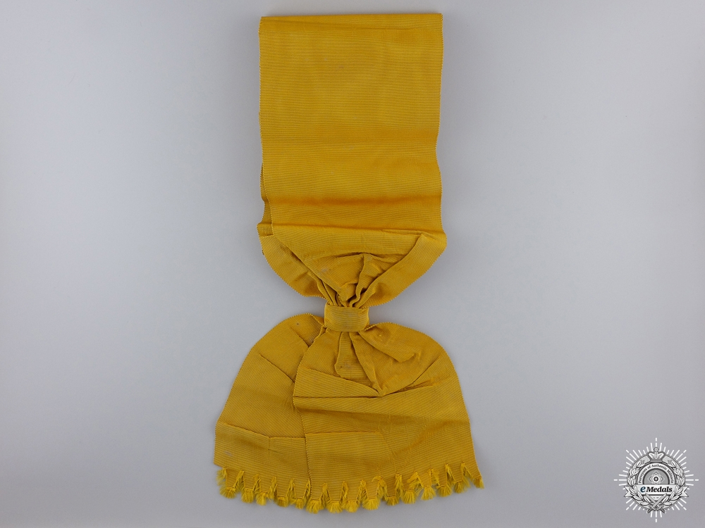 eMedals-An Original Sash for the Prussian Order of the Black Eagle