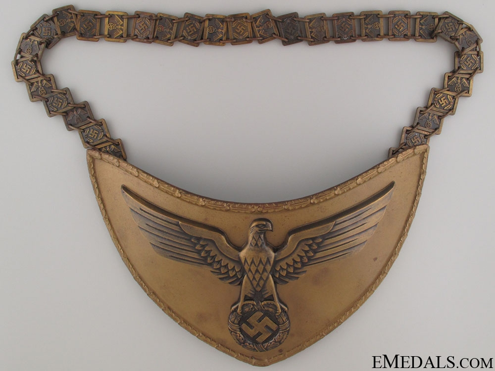 eMedals-An SA Political Leader's Gorget