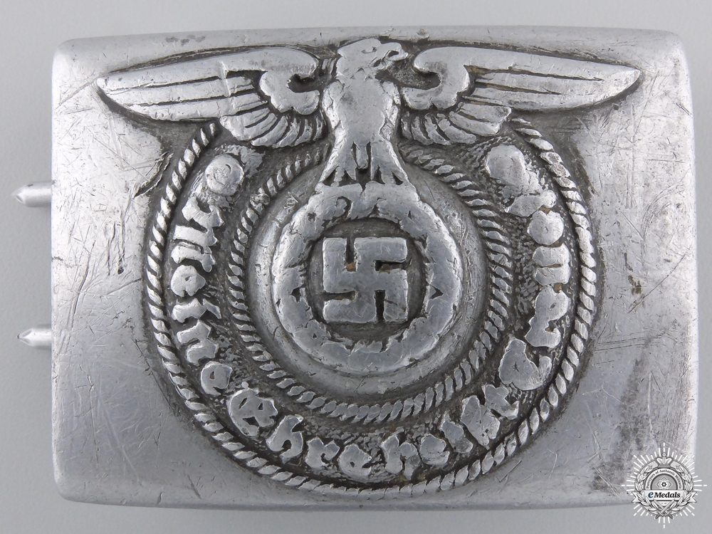 eMedals-An SS EM/NCO'S Buckle by RZM 36/40 SS
