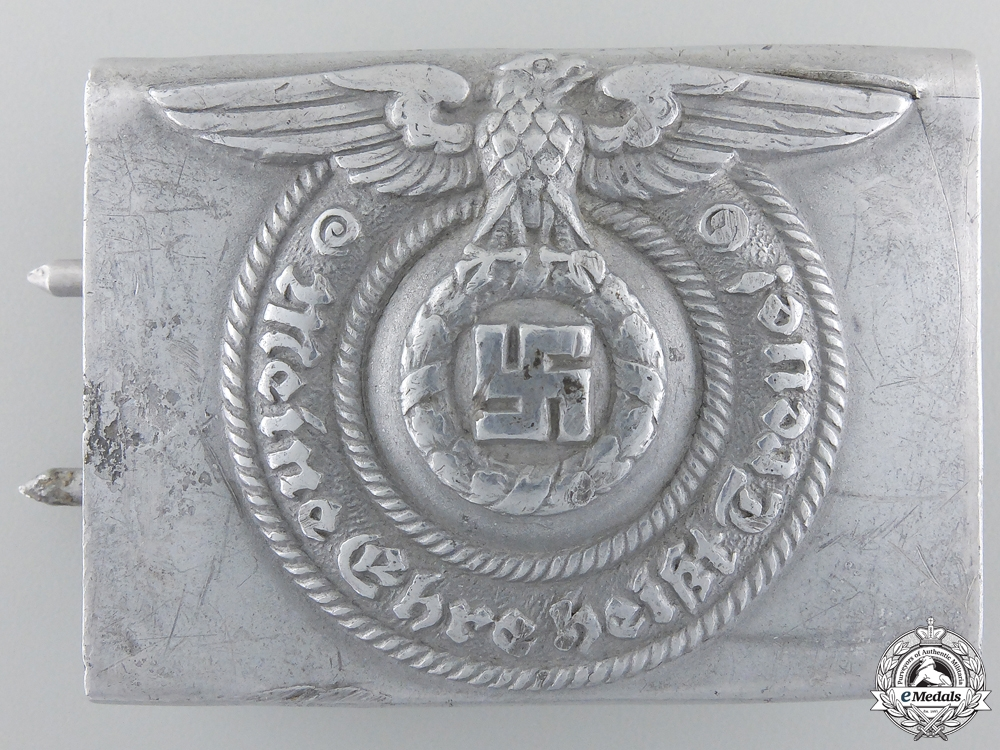 eMedals-An SS EM/NCO'S Buckle byOverhoff and Cie of Ludenscheid