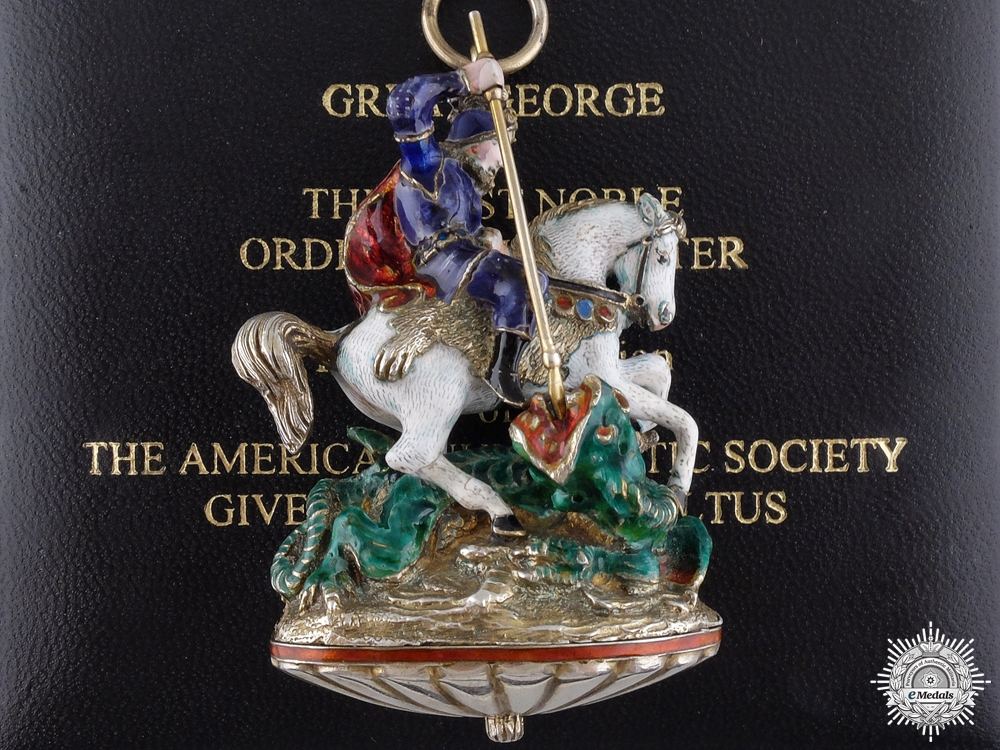 eMedals-A Great George Collar Badge to the Order of the Garter