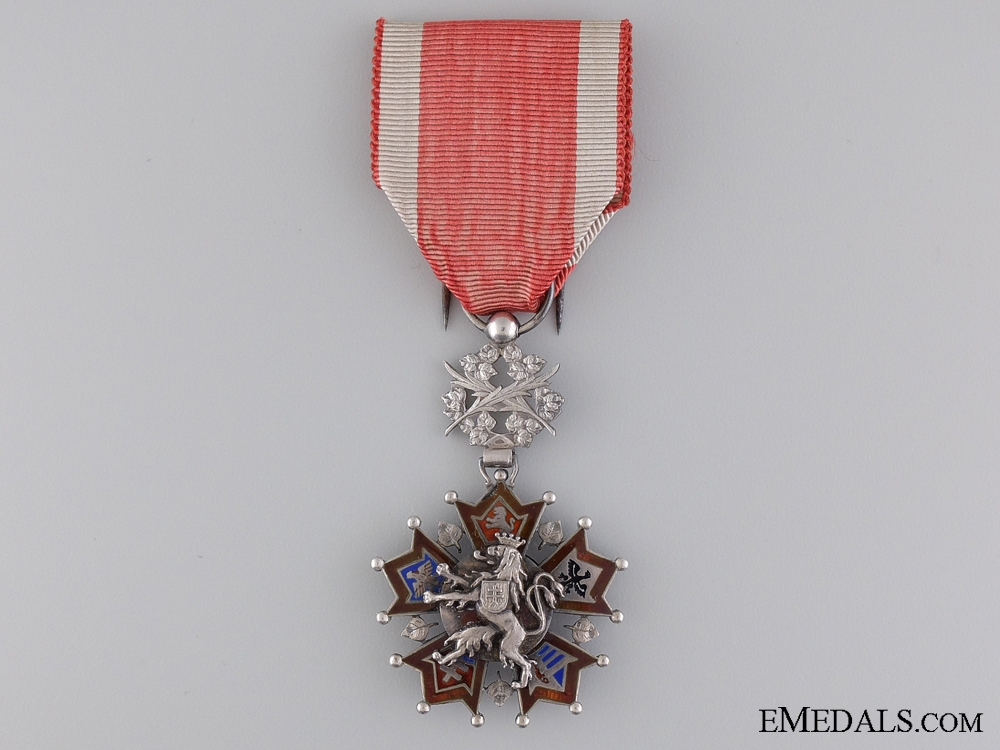 eMedals-An Unusual Czech Order of the White Lion
