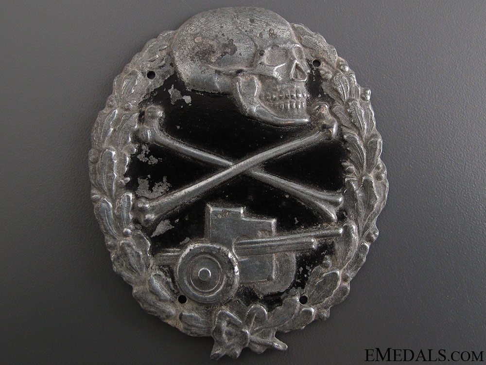 eMedals-Anti-Tank Badge of The Blue Division (Division Azul)