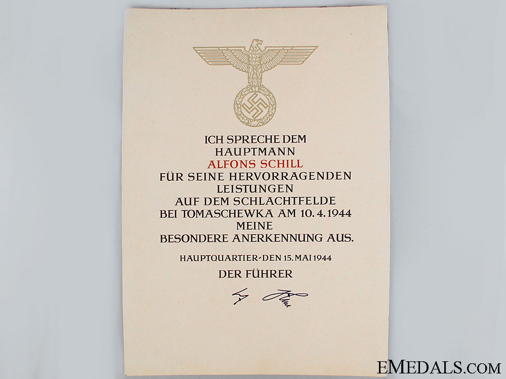 eMedals-Army Honour Roll Clasp Document