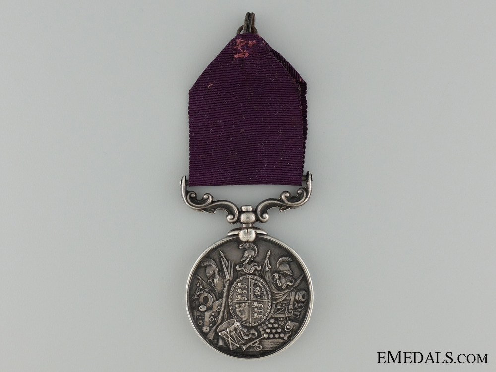 eMedals-Army Long Service and Good Conduct Medal to Quartermaster Sergeant