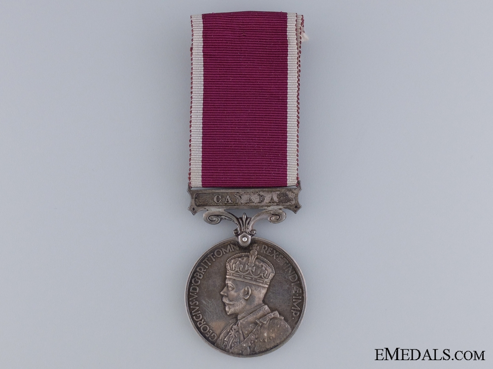eMedals-Army Long Service and Good Conduct Medal to the Royal Canadian Regiment