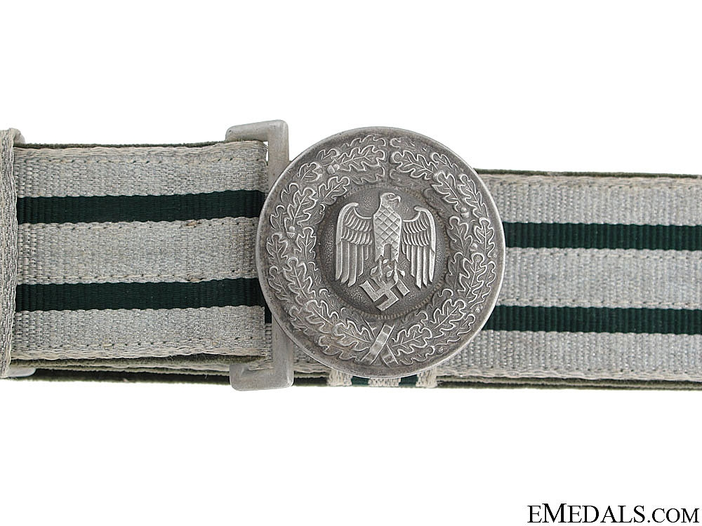 eMedals-Army Officer's Brocade Belt and Buckle