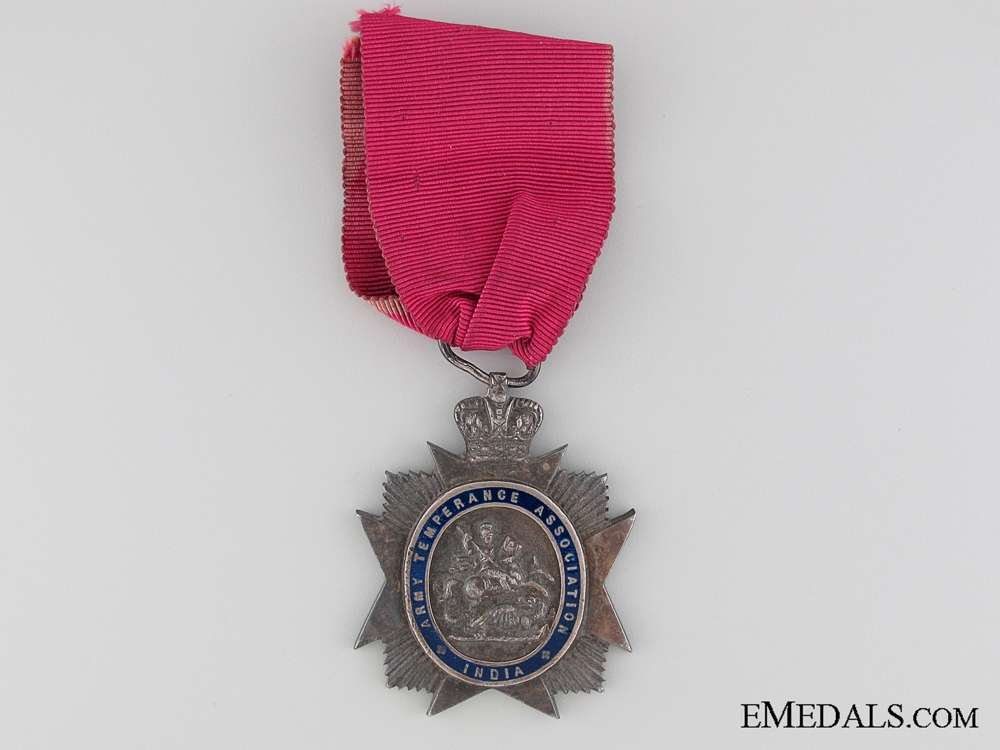 eMedals-Army Temperance Association India Medal
