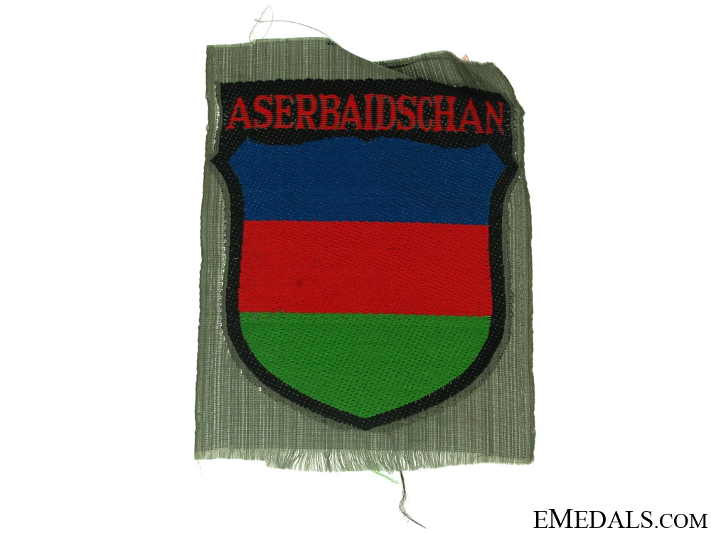 eMedals-Aserbaijani Foreign Volunteer Arm Shield