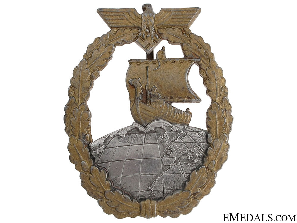 eMedals-Auxiliary Cruiser War Badge by Schwerin