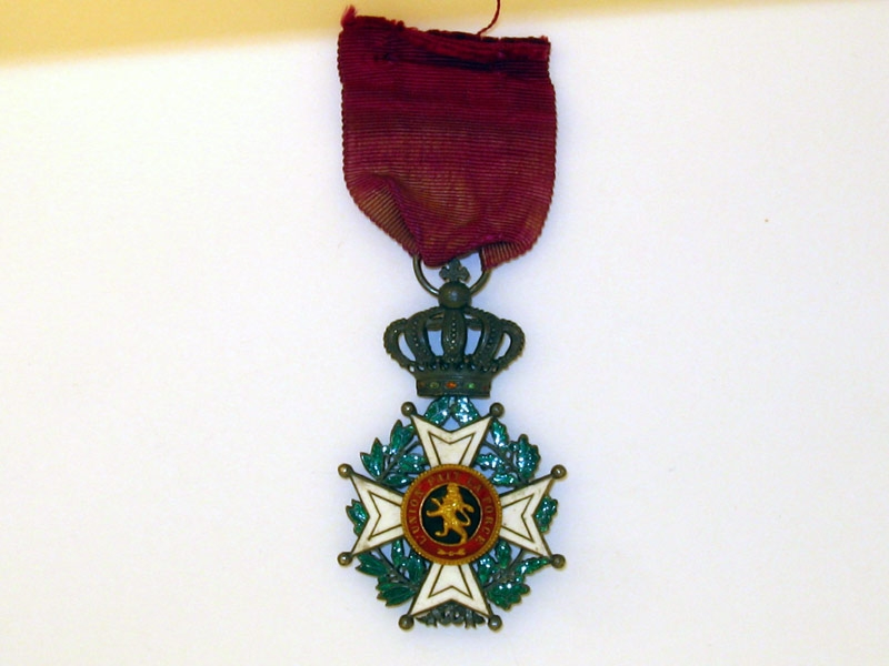 eMedals-Order of Leopold