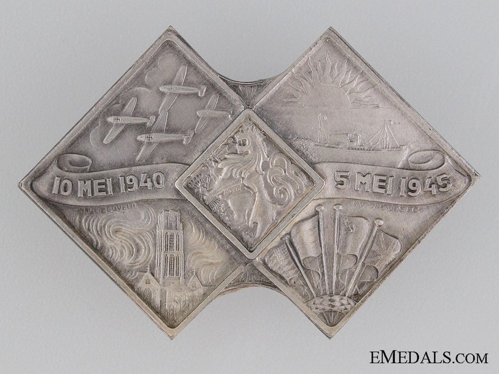 eMedals-Badge for Liberation 1940-1945