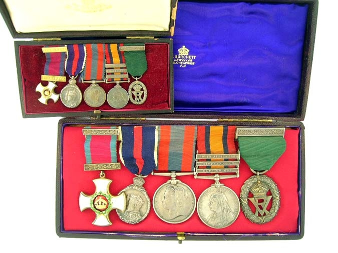 eMedals-Victorian D.S.O. Group of Five,