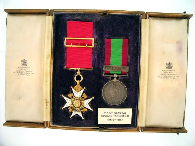 eMedals-Pair, Major General E. Tanner, C.B. who commanded