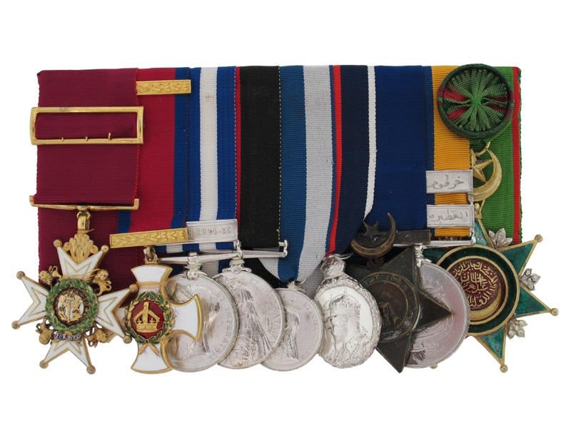 eMedals-The RARE Awards to Brigadier-General G.L.C. Money