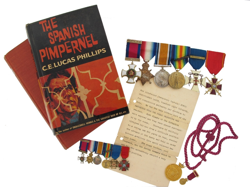 eMedals-A Remarkable DSO to Captain E. C. Lance