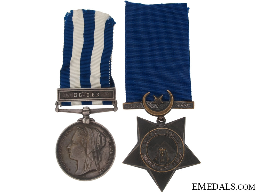 eMedals-An Egypt Pair to the Royal Rifles Corps