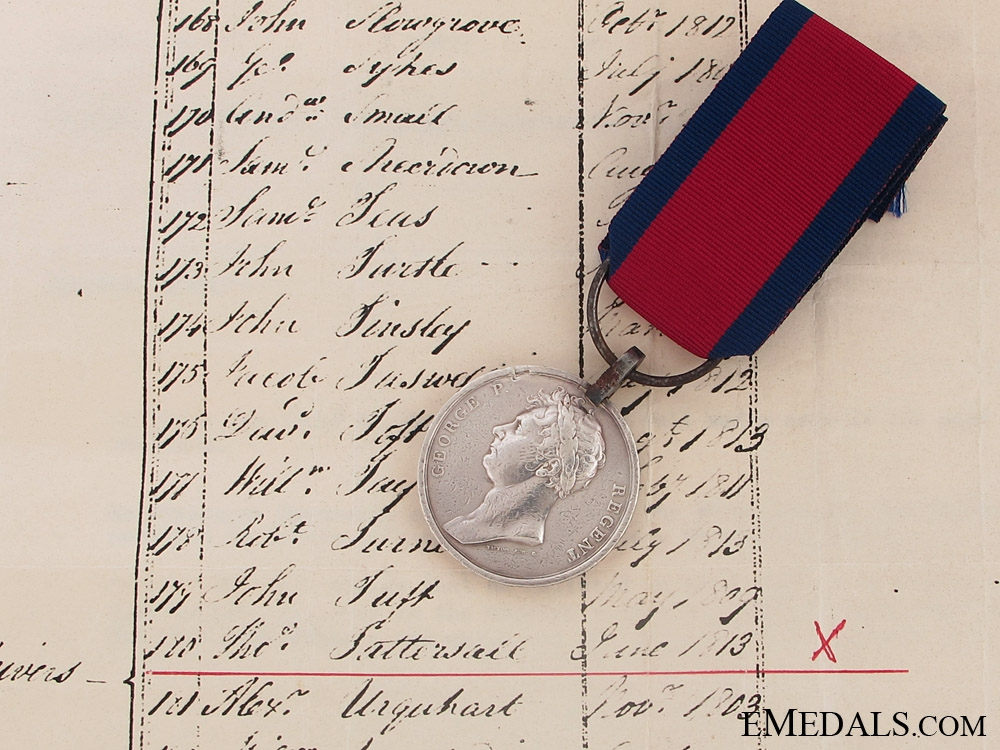 eMedals-A Waterloo Medal to the Royal Artillery Drivers; F Troop