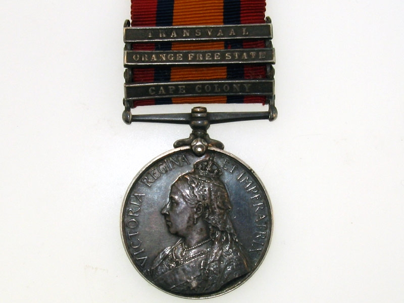 eMedals-Queens South Africa Medal