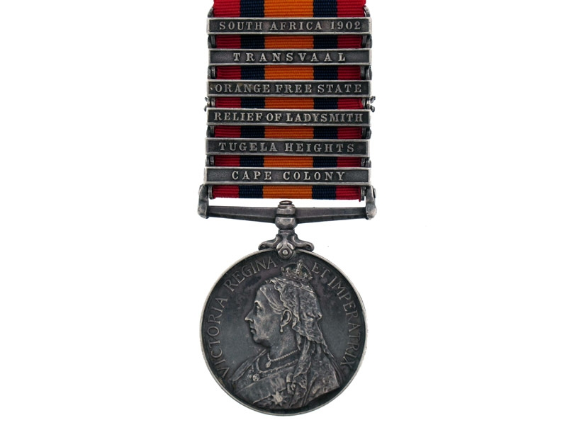 eMedals-Queen's South Africa Medal 1899-1902