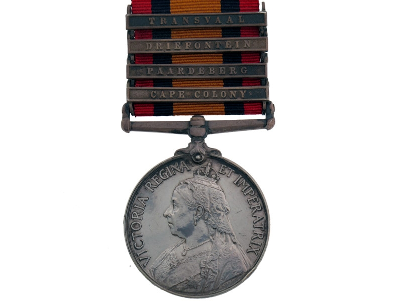 eMedals-Queen's South Africa Medal 1899-1902,