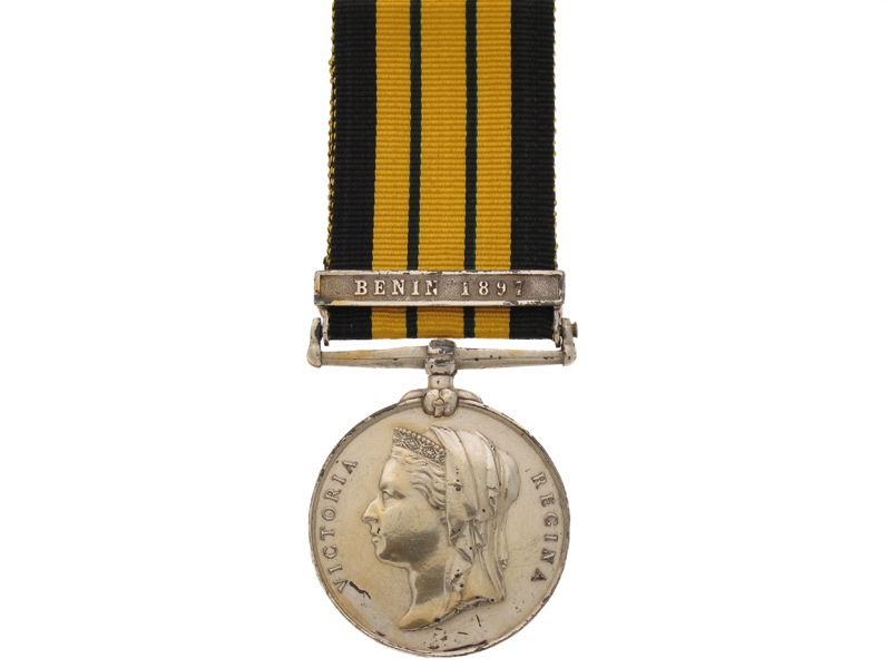 eMedals-East and West Africa Medal 1887-1900,