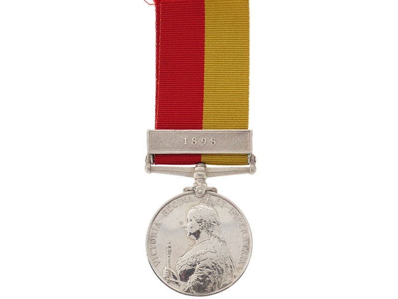 eMedals-East and Central Africa Medal, 1897-1899