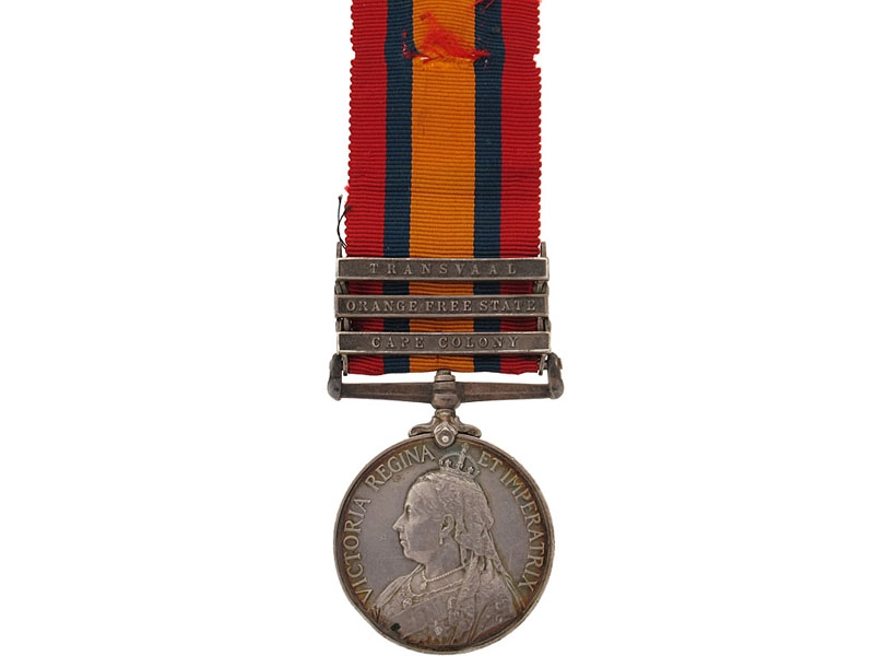 eMedals-Queen's South Africa Medal, 1899-1902