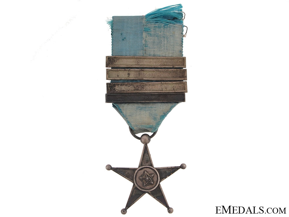eMedals-Belgian Colonial Service Star