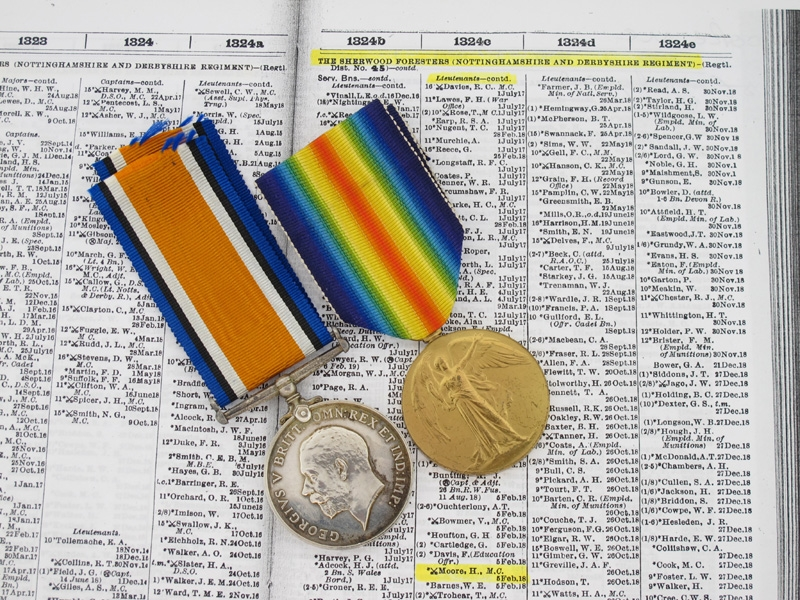 eMedals-Awards to Lt.H.Moore - Military Cross Recipient