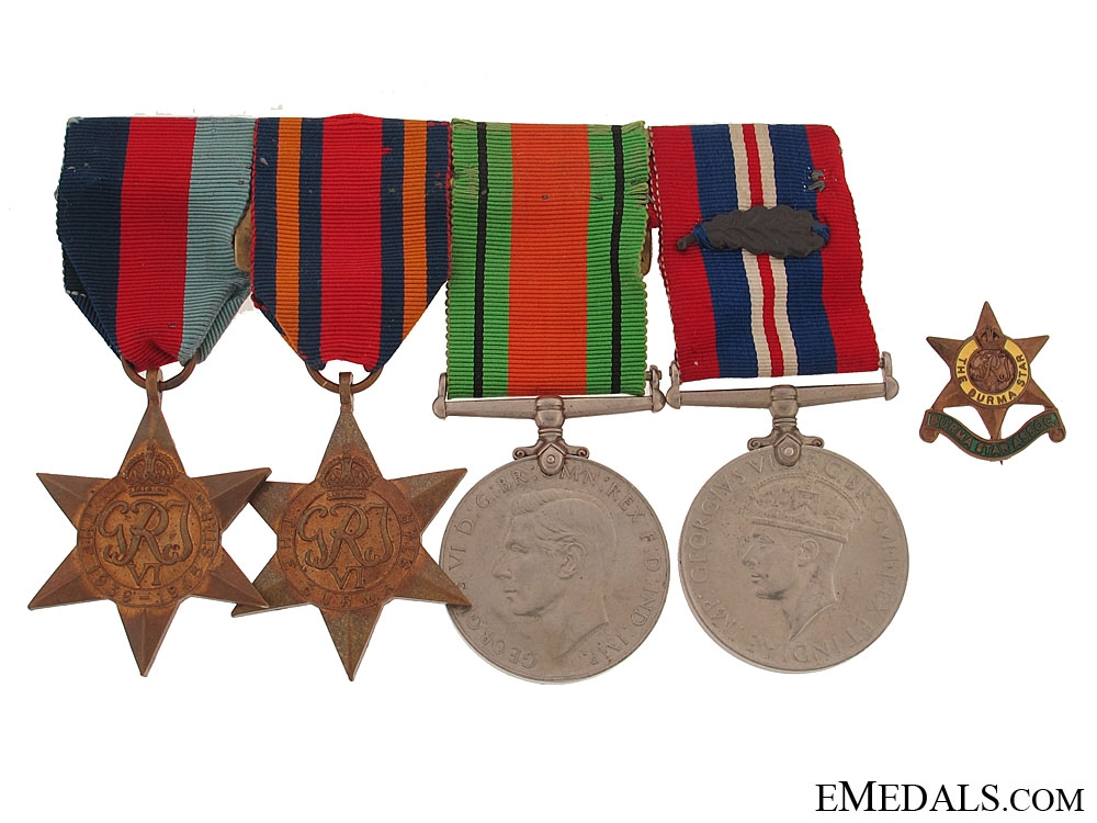 eMedals-A WWII Group of Four