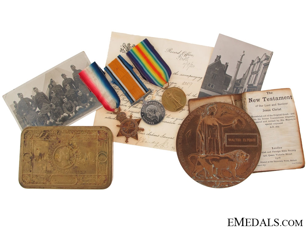 eMedals-Memorial Group to the Black Watch (Royal Highlanders)