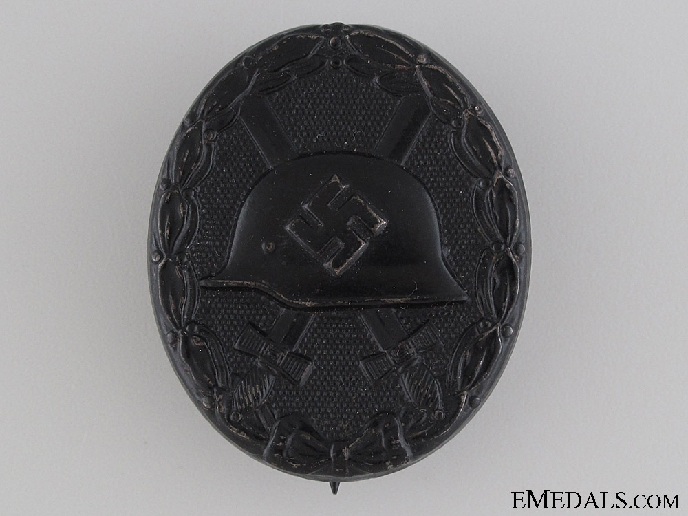 eMedals-Black Grade Wound Badge - Marked