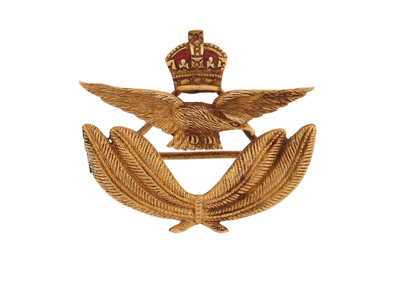 eMedals-Royal Air Force Pin in Gold