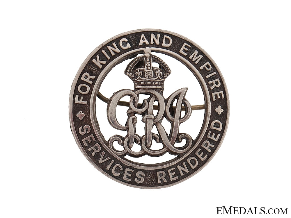 eMedals-WWI Silver War Badge