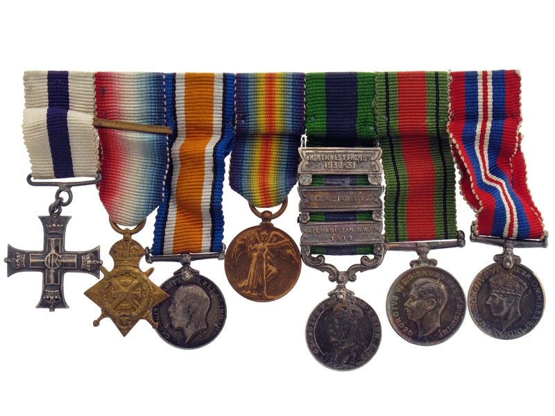 eMedals-Military Cross Group of Seven