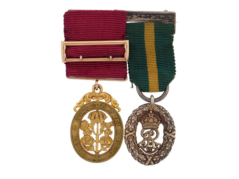 eMedals-Gold Order of the Bath Miniature Medal Pair