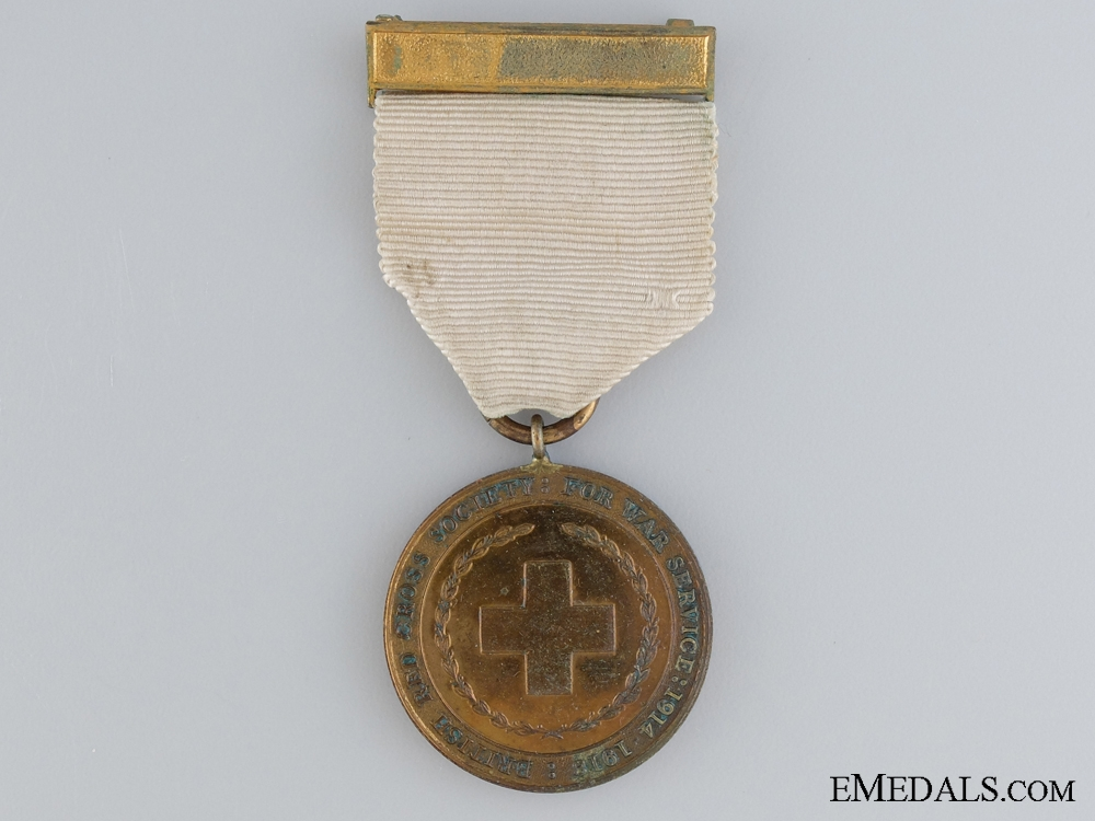 eMedals-British Red Cross Society Medal for War Service