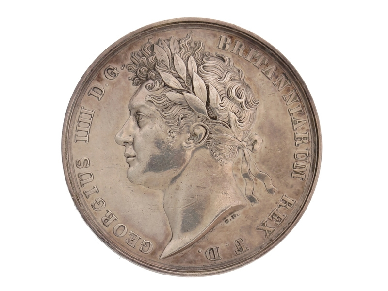 eMedals-George IV Coronation Medal, 1821.