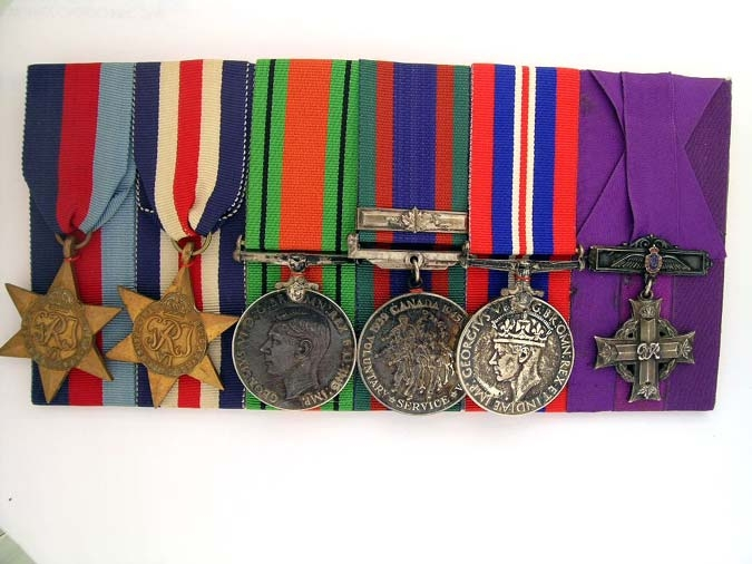 eMedals-WWII R.C.A.F. GROUP OF SIX